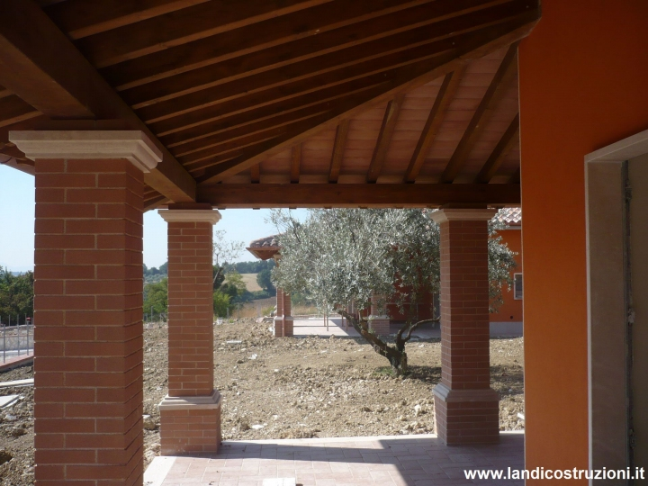 Villaggio residenziale villini e appartamenti terni for Kit di costruzione portico