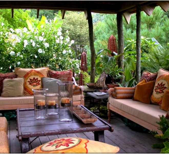 Idee per arredare l'outdoor living