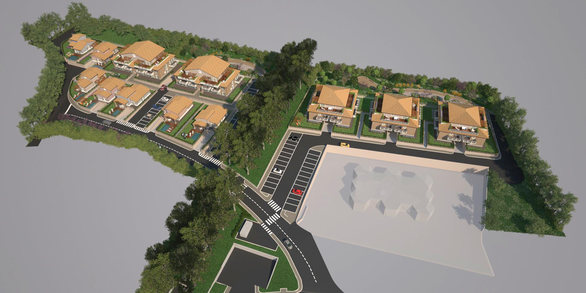 Villaggio residenziale, Terni, zona Gabelletta