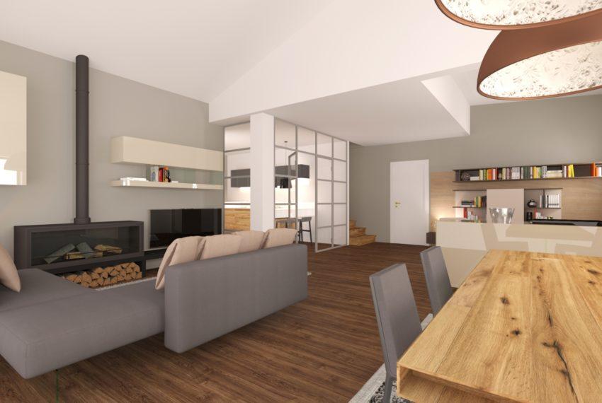 arredo soggiorno complesso residenziale villa palma 01