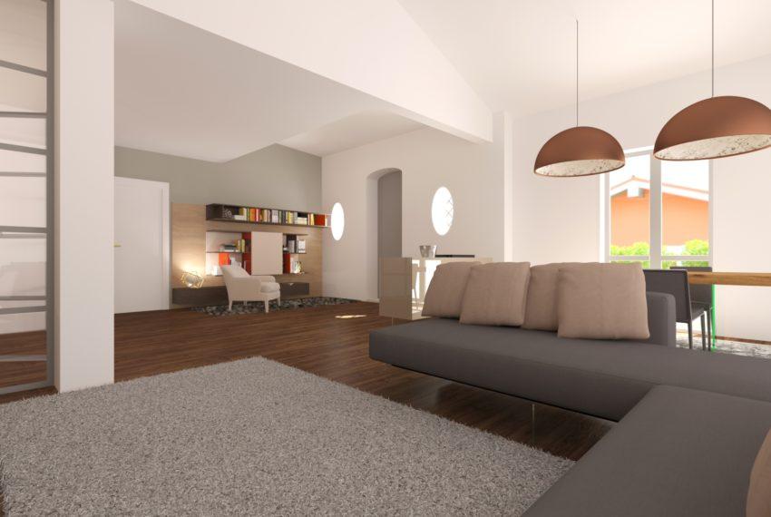 arredo soggiorno complesso residenziale villa palma 02
