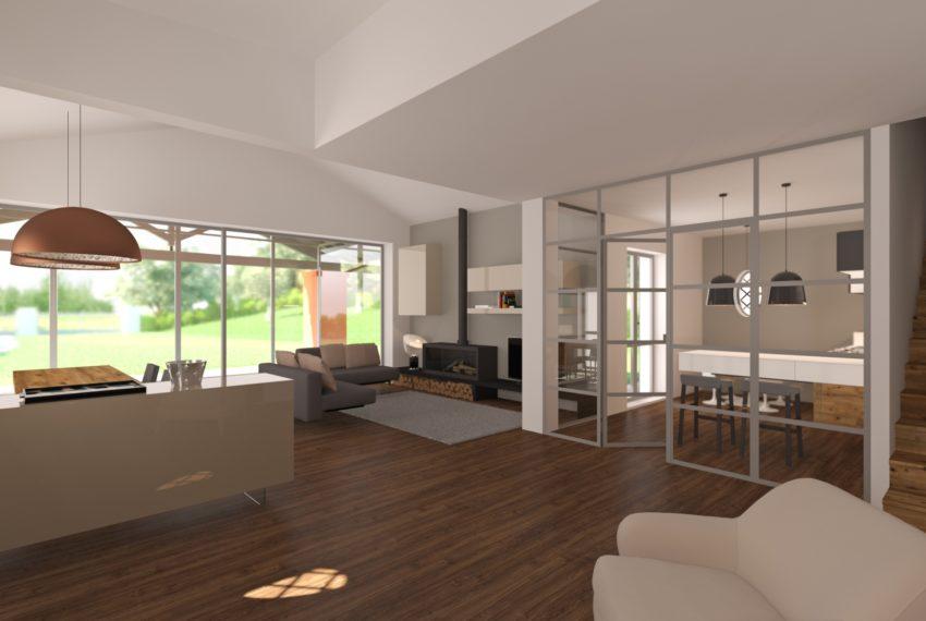 arredo soggiorno complesso residenziale villa palma 03