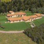Complesso residenziale Villa Palma vista volo d'uccello